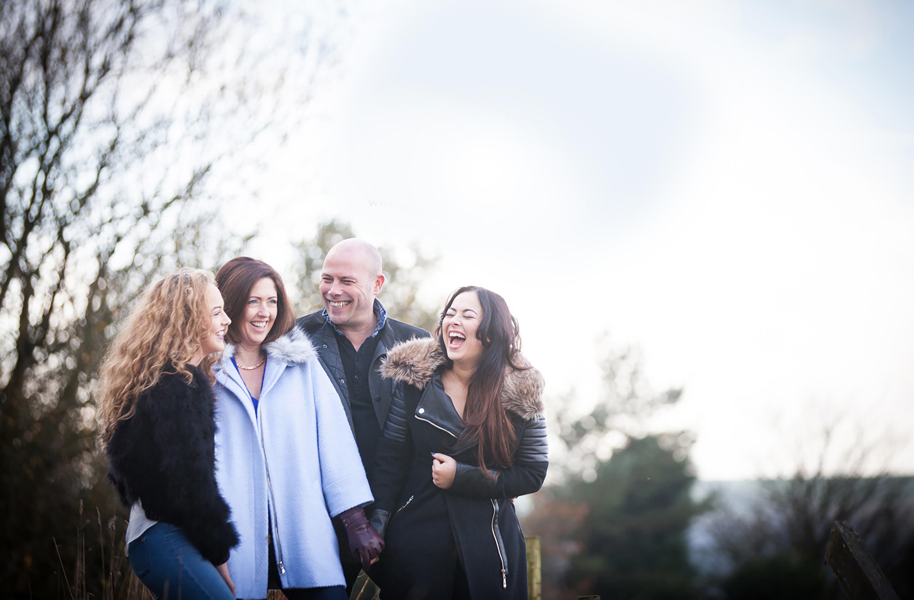 Family shoot location gillian devine photography